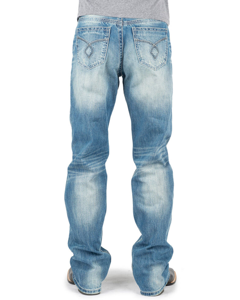 Tin Haul Men's Regular Joe Fit Bootcut Jeans , Indigo, hi-res