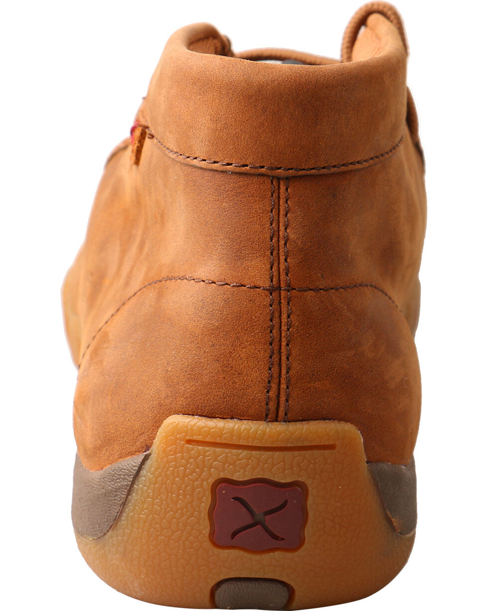 Twisted X Men's Driving Moc Toe Shoes, Brown, hi-res