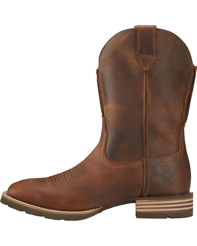 Ariat Men's Hybrid Street Side Western Boots, Brown, hi-res