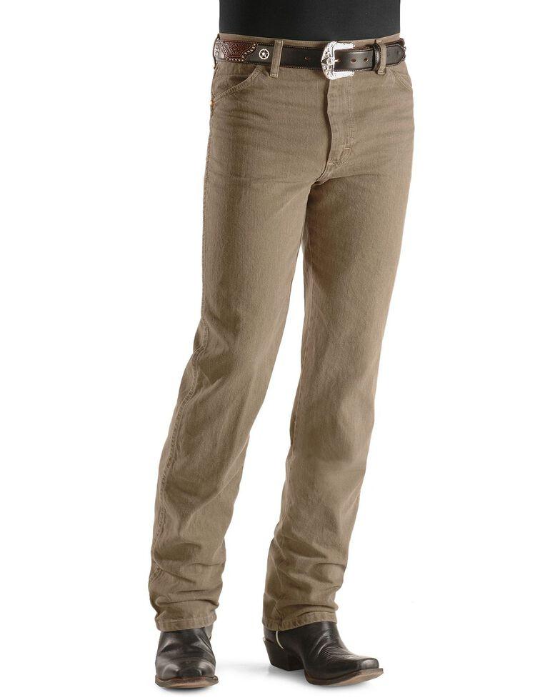 Wrangler Men's Slim Fit 936 Cowboy Cut Jeans, Trail Dust, hi-res