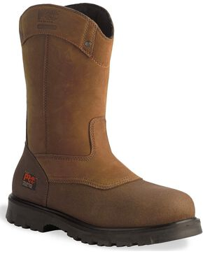 Timberland Pro Men's Rigmaster WP ST Wellington Boots, Wheat, hi-res