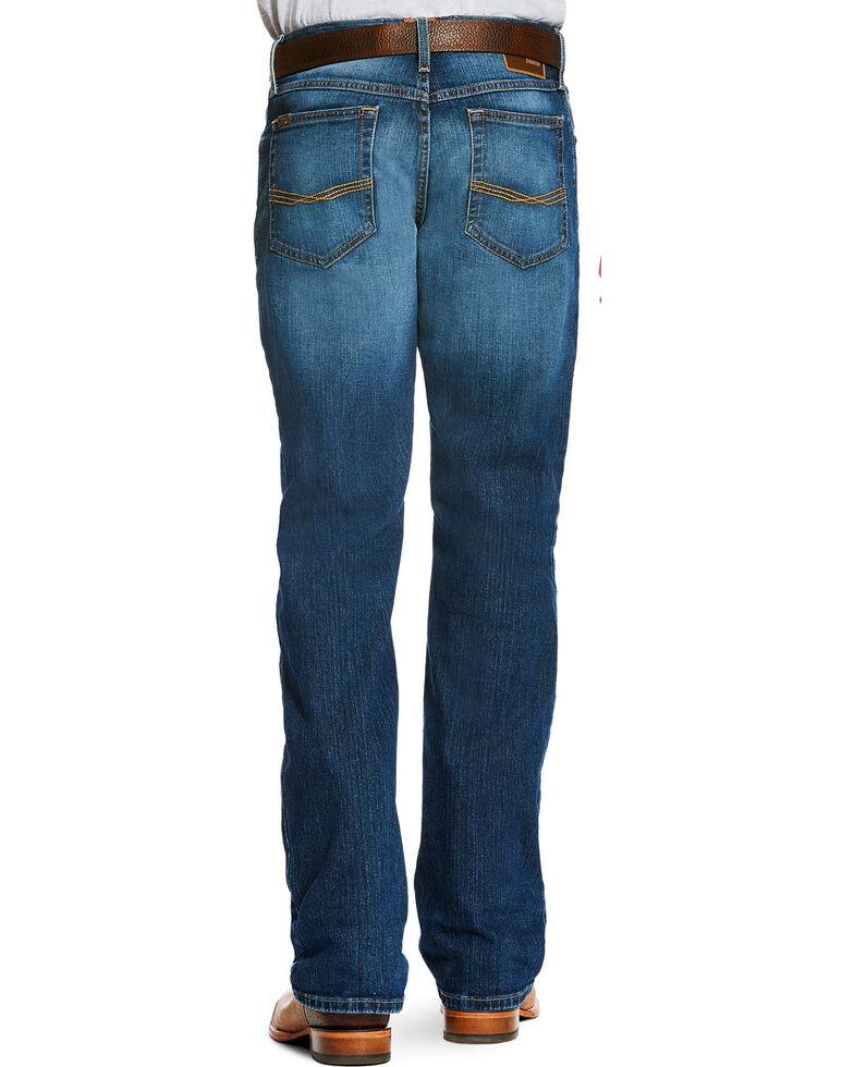 Ariat Men's Blue M4 Legacy Stretch Freeman Jeans - Boot Cut , Blue, hi-res
