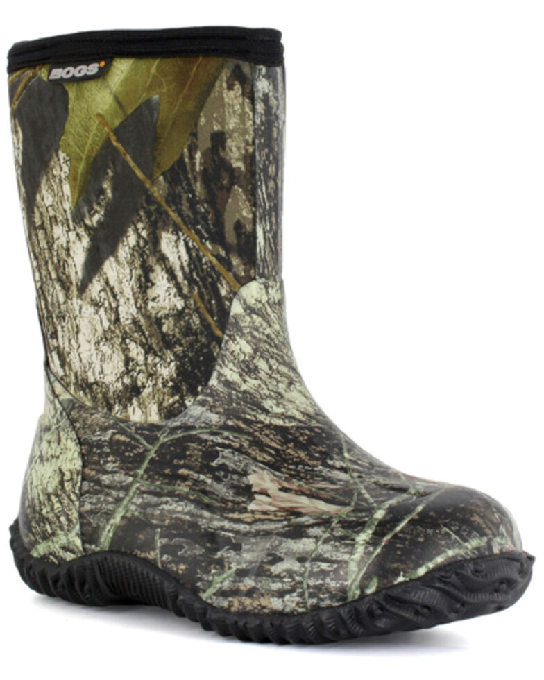 Bogs Boys  Classic Mid Mossy Oak Waterproof Boots - Round Toe  1286ff7c0c59