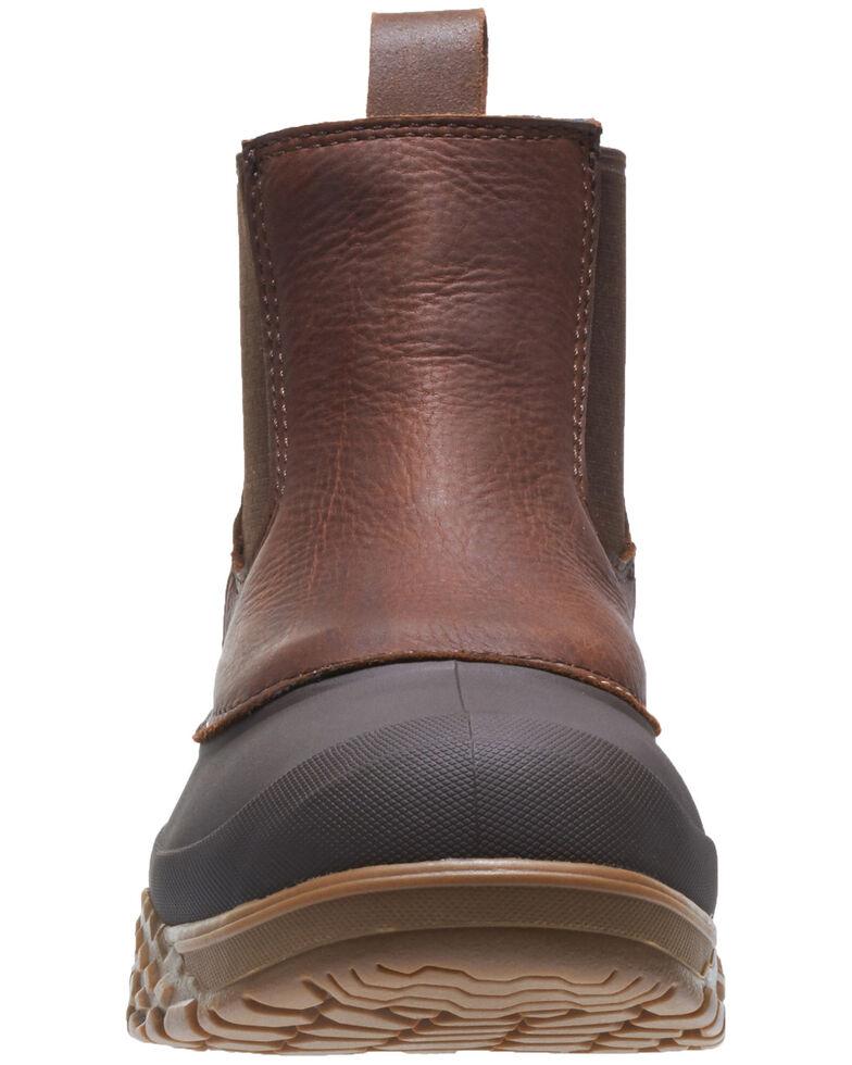 Wolverine Men's Yak Waterproof Work Boots - Steel Toe, Brown, hi-res