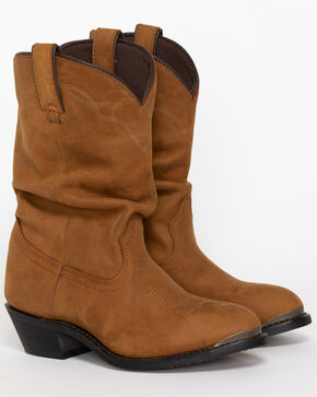 Shyanne® Women's Slouch Fashion Western Boots, Brown, hi-res