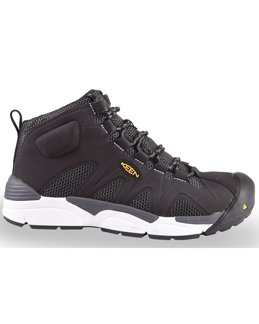 Keen Men's San Antonio Work Boots - Aluminum Toe, Black, hi-res