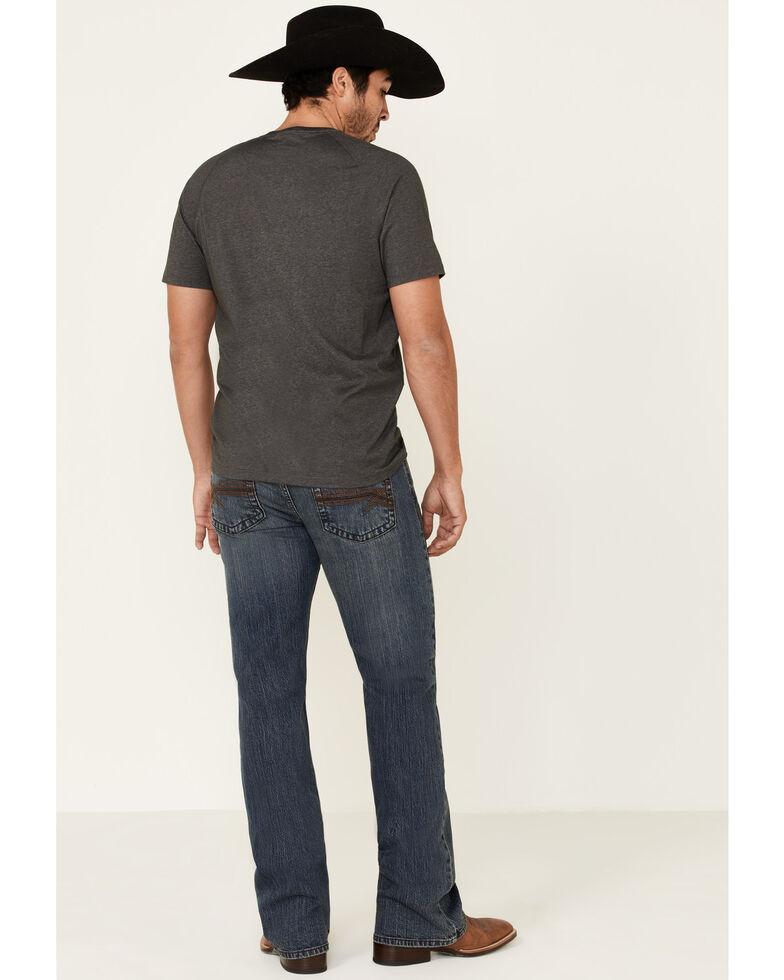 Cody James Core Men's Steel Dust Medium Wash Stretch Regular Bootcut Jeans , Blue, hi-res