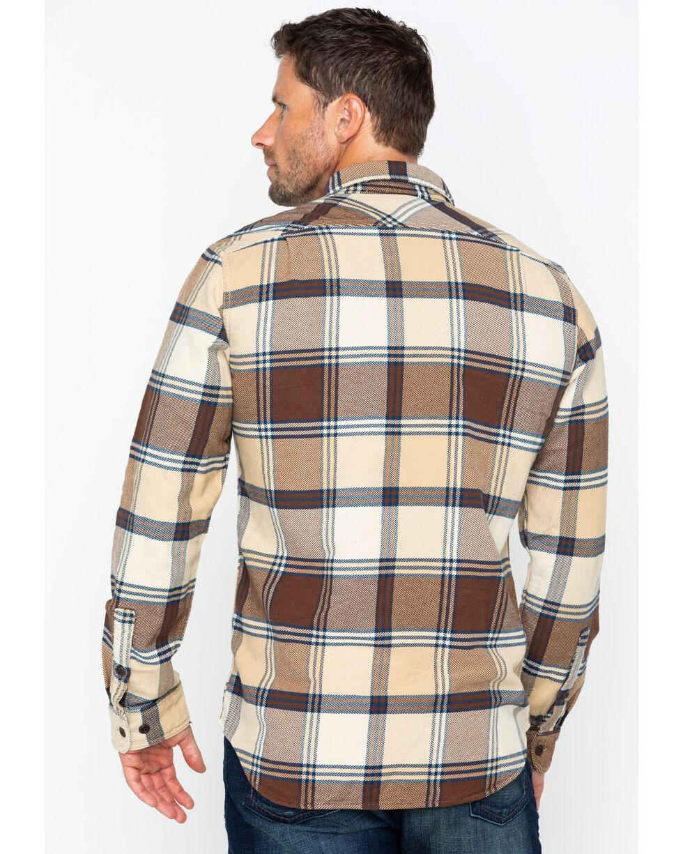 Filson Men's Vintage Flannel Work Shirt , Beige/khaki, hi-res