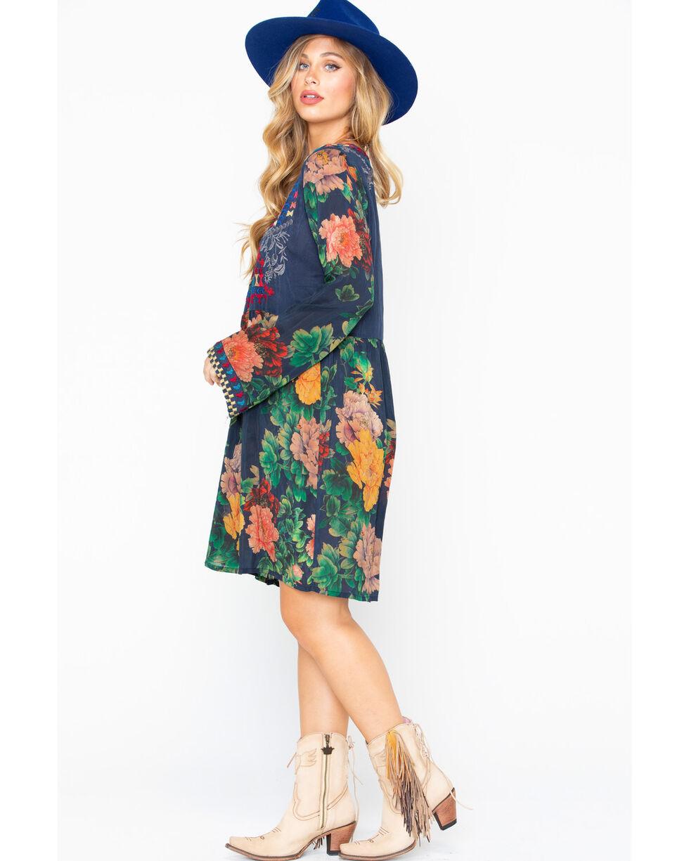 Johnny Was Women's Geo Tunic Bayani Embroidered Dress, Multi, hi-res