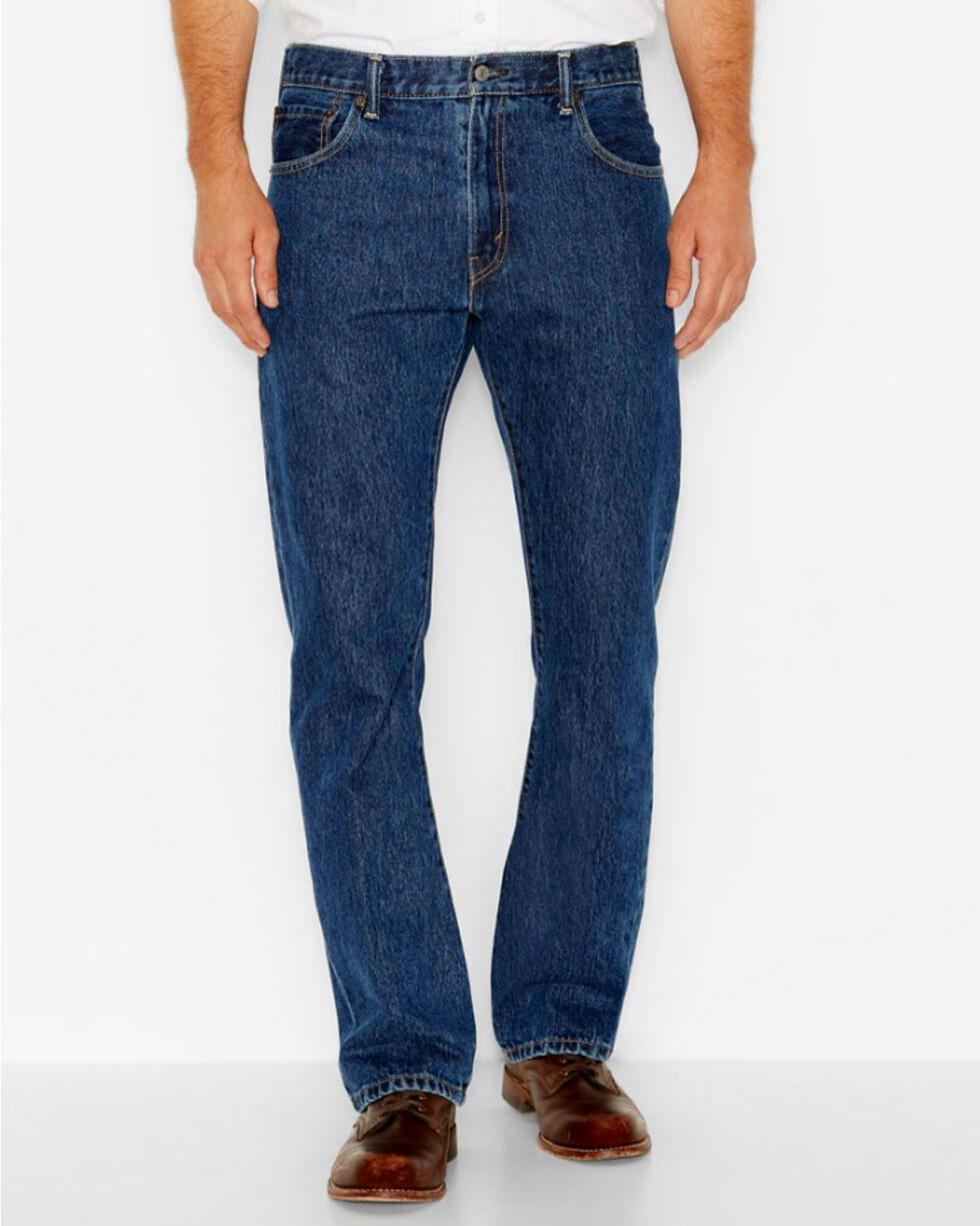 Levi's Men's 517 Boot Cut Jeans , Indigo, hi-res