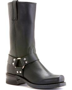 Frye Men's Harness 12R Motorcycle Boots, Black, hi-res