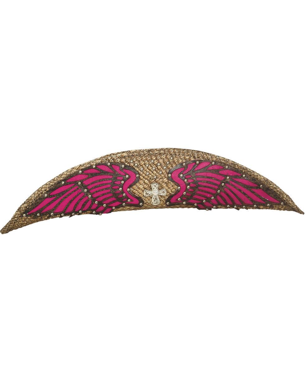Bullhide Women's Western Inspiration Staw Hat, Natural, hi-res
