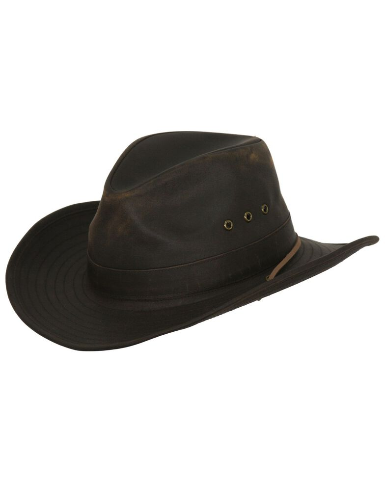 Outback Trading Co. Korona Canyonland Cloth Hat, Brown, hi-res