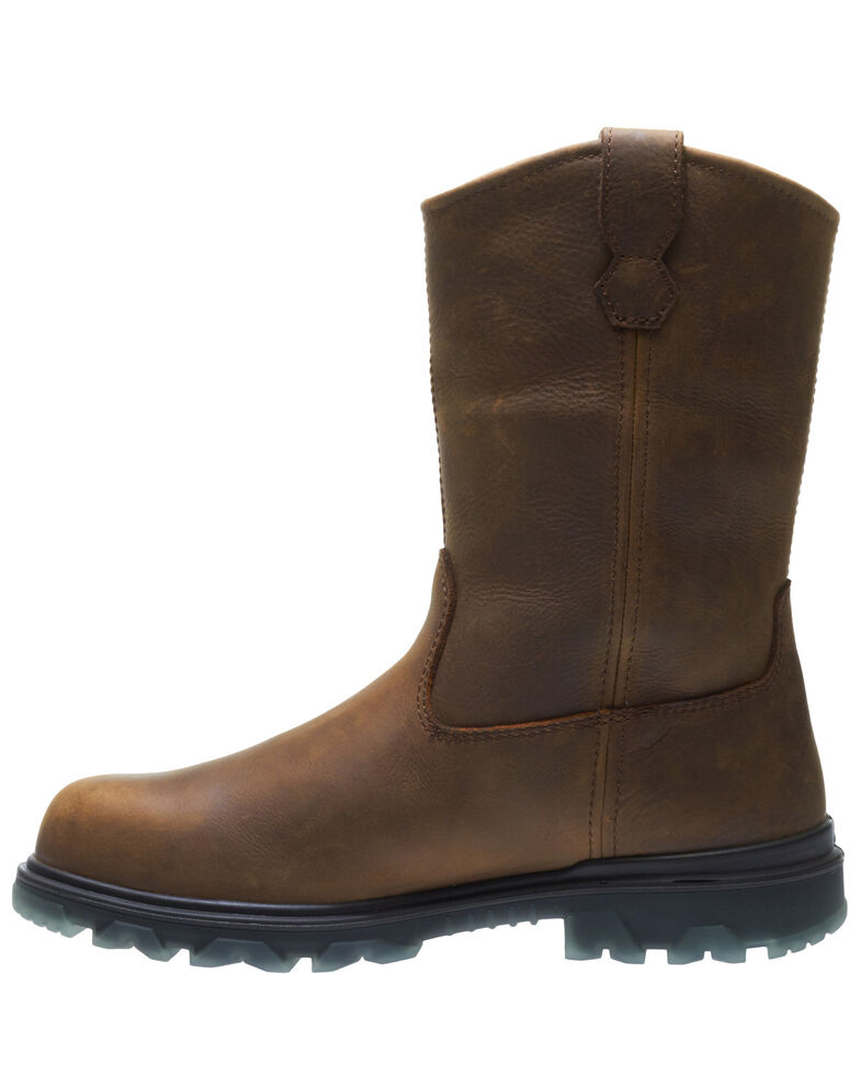 Wolverine Men's I-90 EPX Carbonmax Wellington Boots - Composite Toe, Brown, hi-res