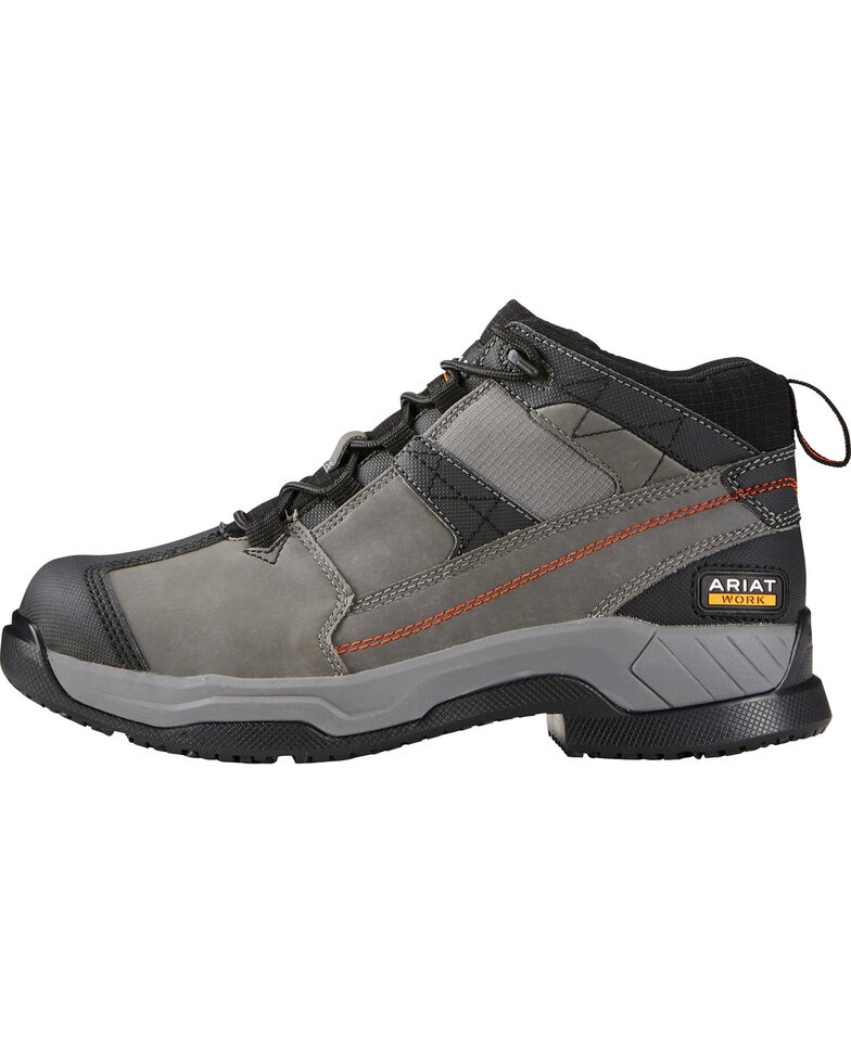 Ariat Men's Contender Work Shoes, Grey, hi-res