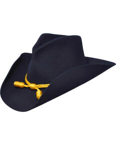 Bailey Western Cavalry II Navy Blue Hat, Navy, hi-res