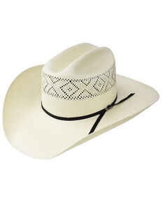 Stetson Men s Natural 10X Saddleman Straw Cowboy Hat 7be37cadbf4e