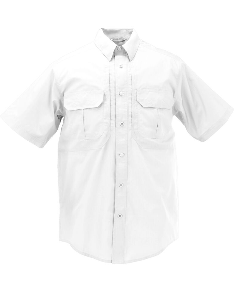 5.11 Tactical Taclite Pro Short Sleeve Shirt - 3XL, White, hi-res