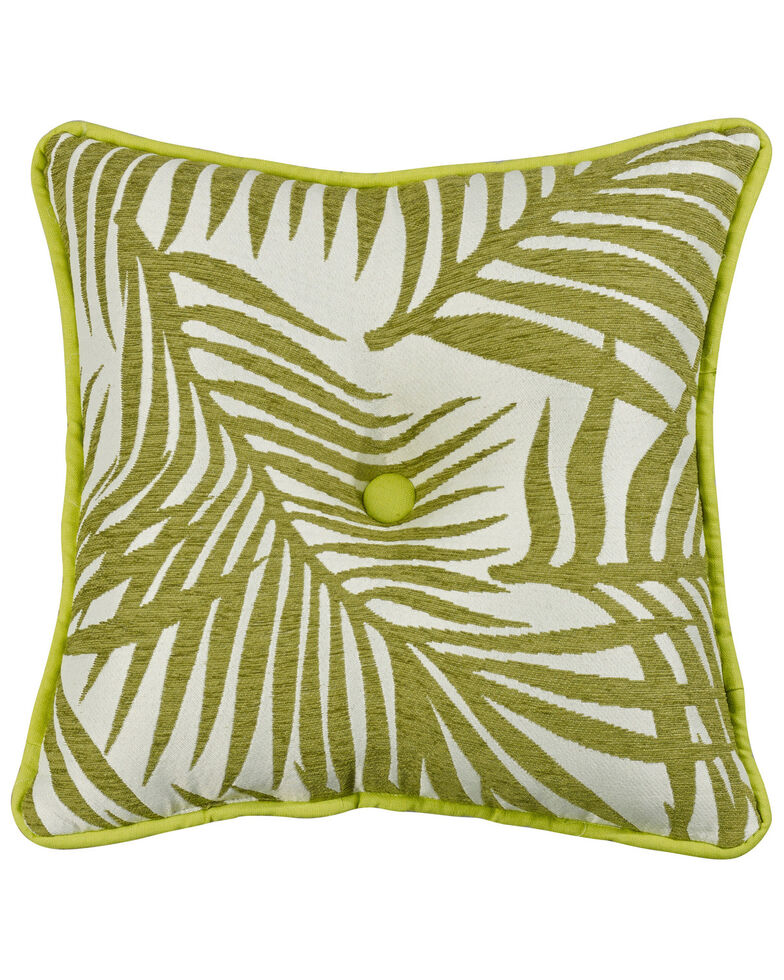 HiEnd Accents Capri Fern Accent Pillow, Multi, hi-res