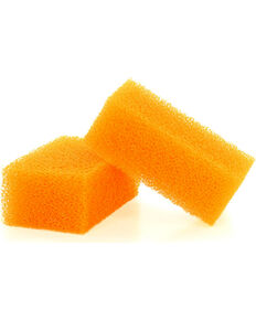 Boot Barn® Hat Cleaning Sponges for Felt Hats, Orange, hi-res