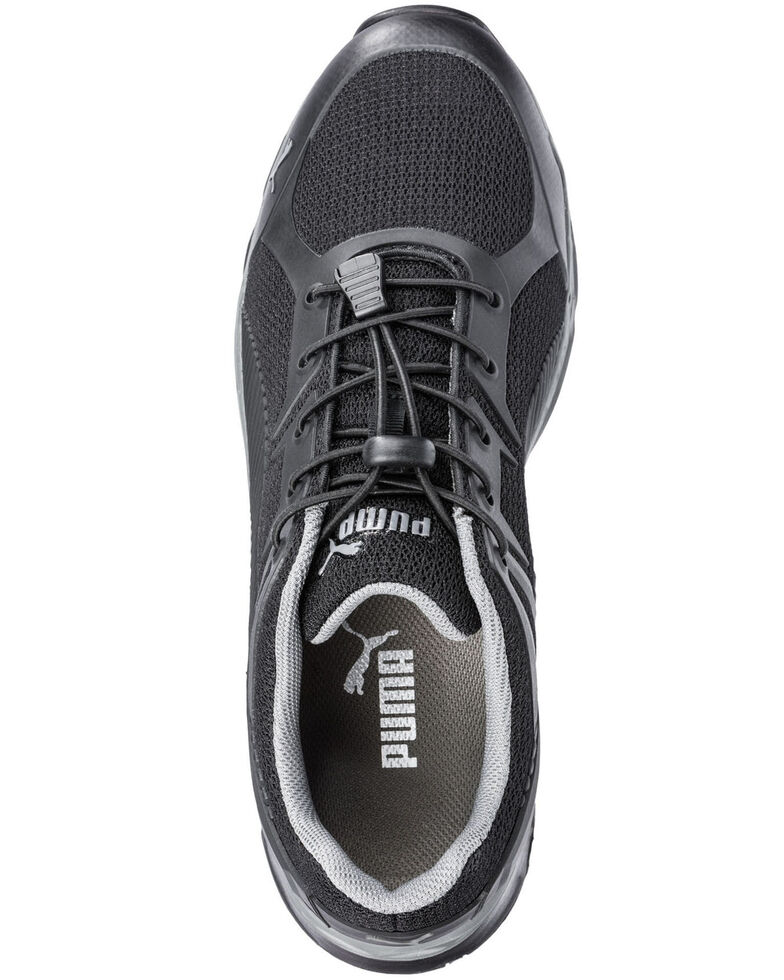 Puma Men's Fuse Motion Work Shoes - Composite Toe, Black, hi-res