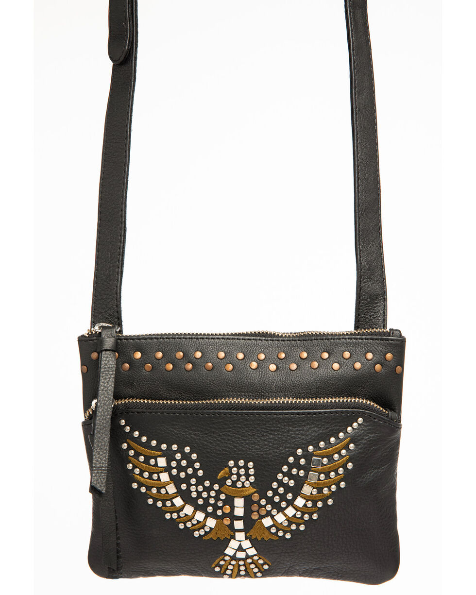 Idyllwind Women's Fly With Me Crossbody Bag, Black, hi-res