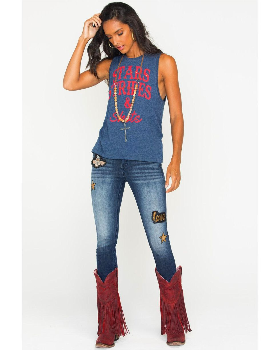 IOC Women's Stars, Stripes, & Shots Graphic Tank, , hi-res