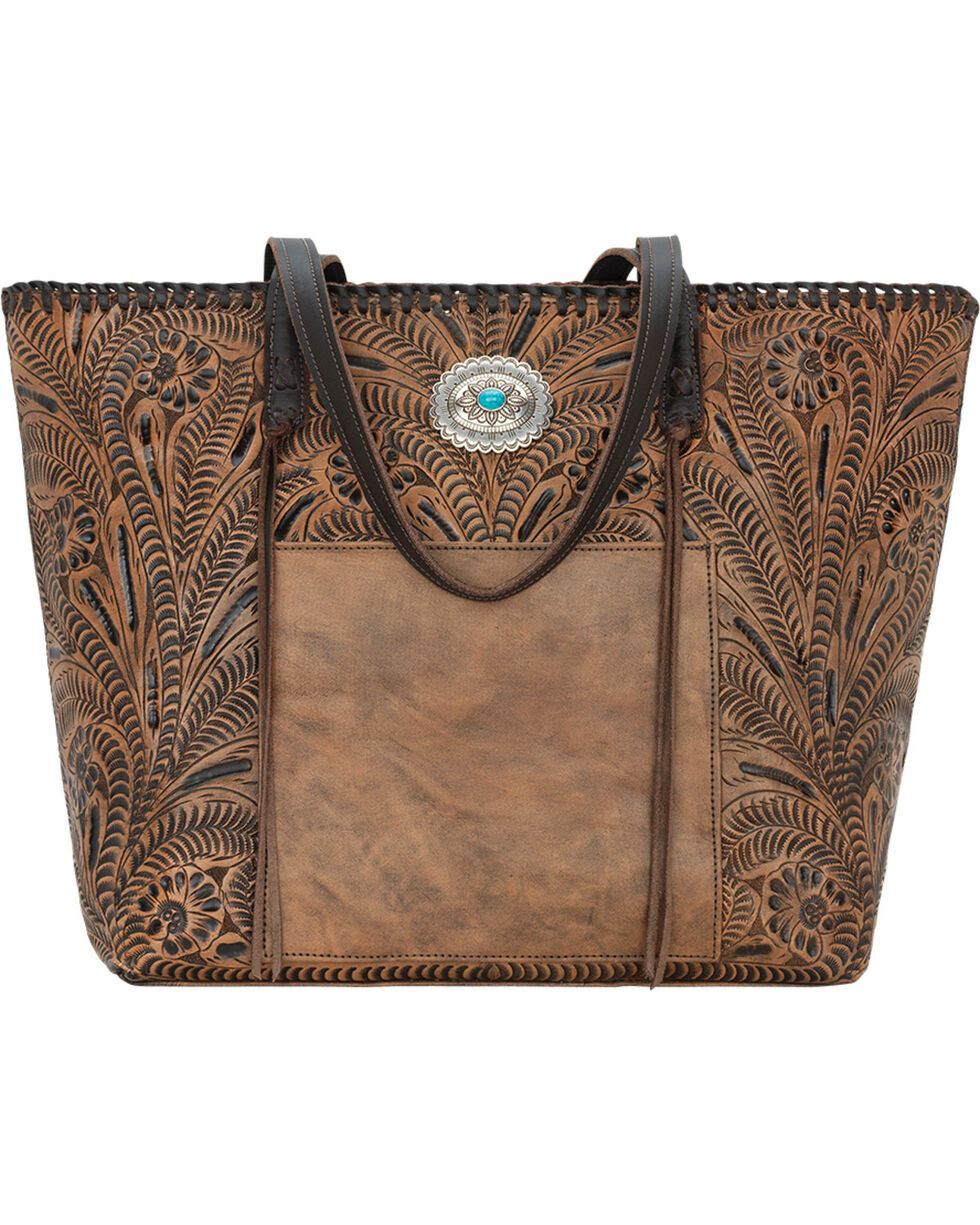 American West Women's Santa Barbara Large Shopper Tote, , hi-res