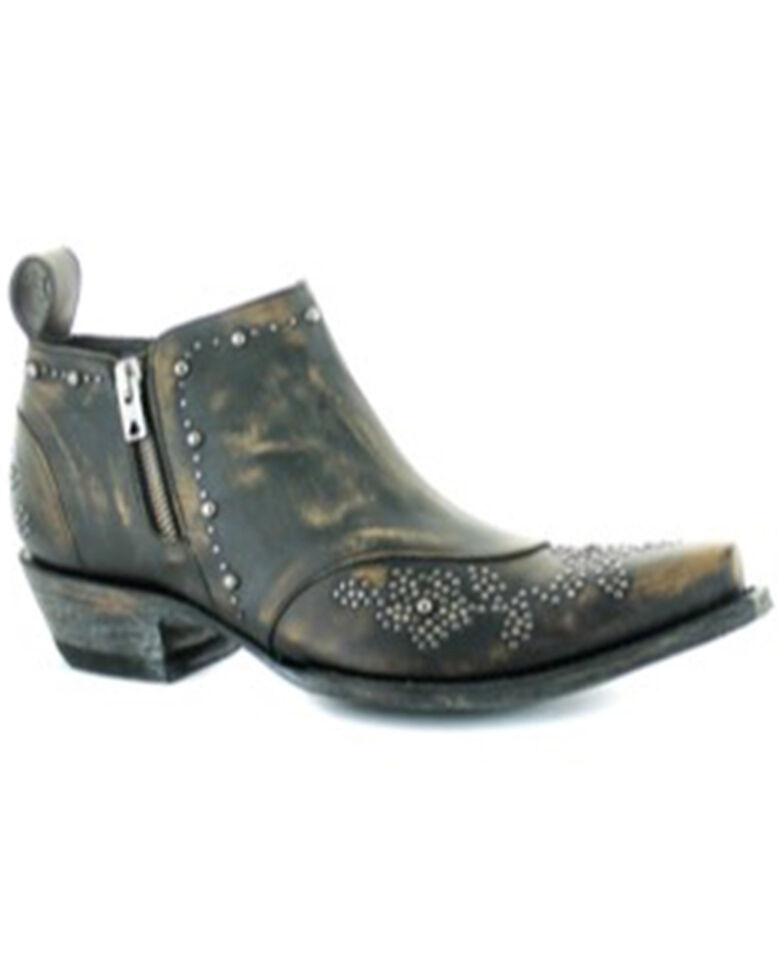 Old Gringo Women's Callie Fashion Booties - Snip Toe, Black, hi-res