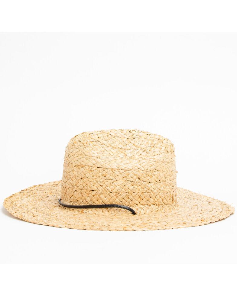 Hawx Men's Lifeguard Straw Sun Hat , Natural, hi-res