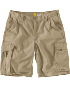 Carhartt Force Tappan Cargo Shorts, Tan, hi-res