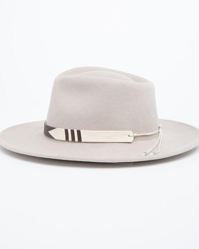 Nikki Beach Women's Mink Journey Wool Felt Hat , Tan, hi-res