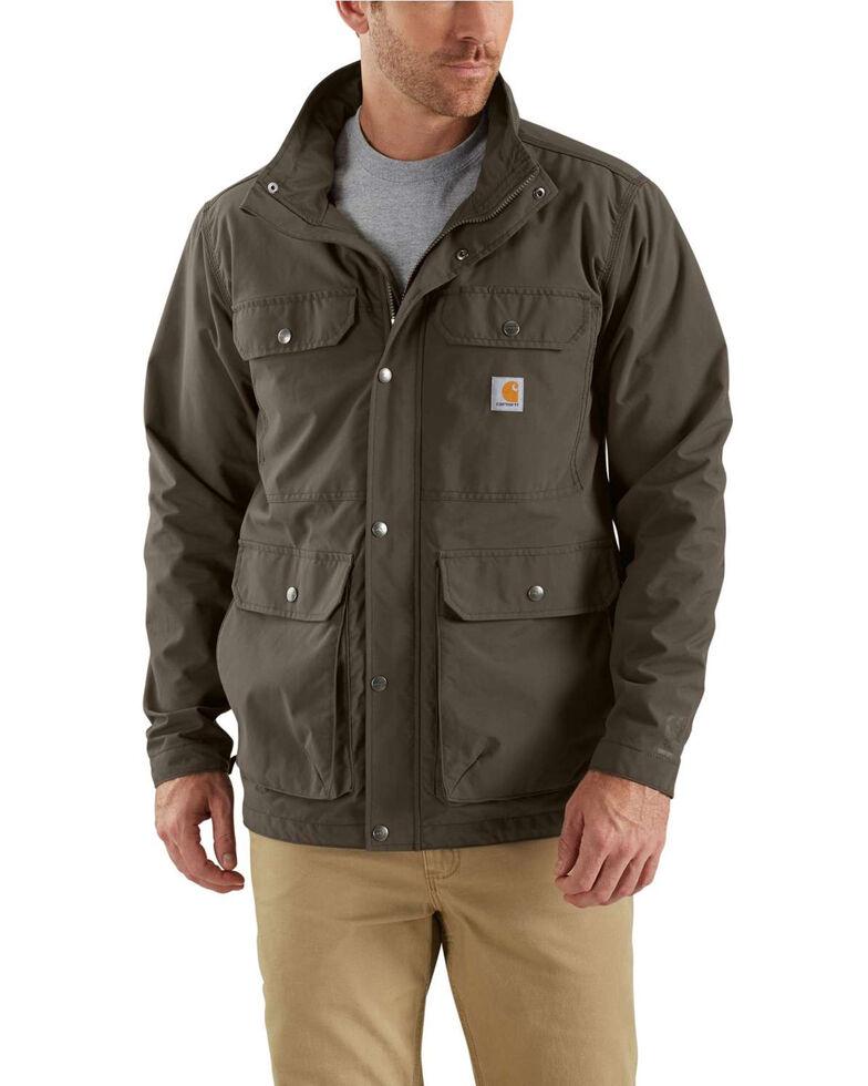 Carhartt Men's Utility Lightweight Work Coat - Big  , Dark Grey, hi-res