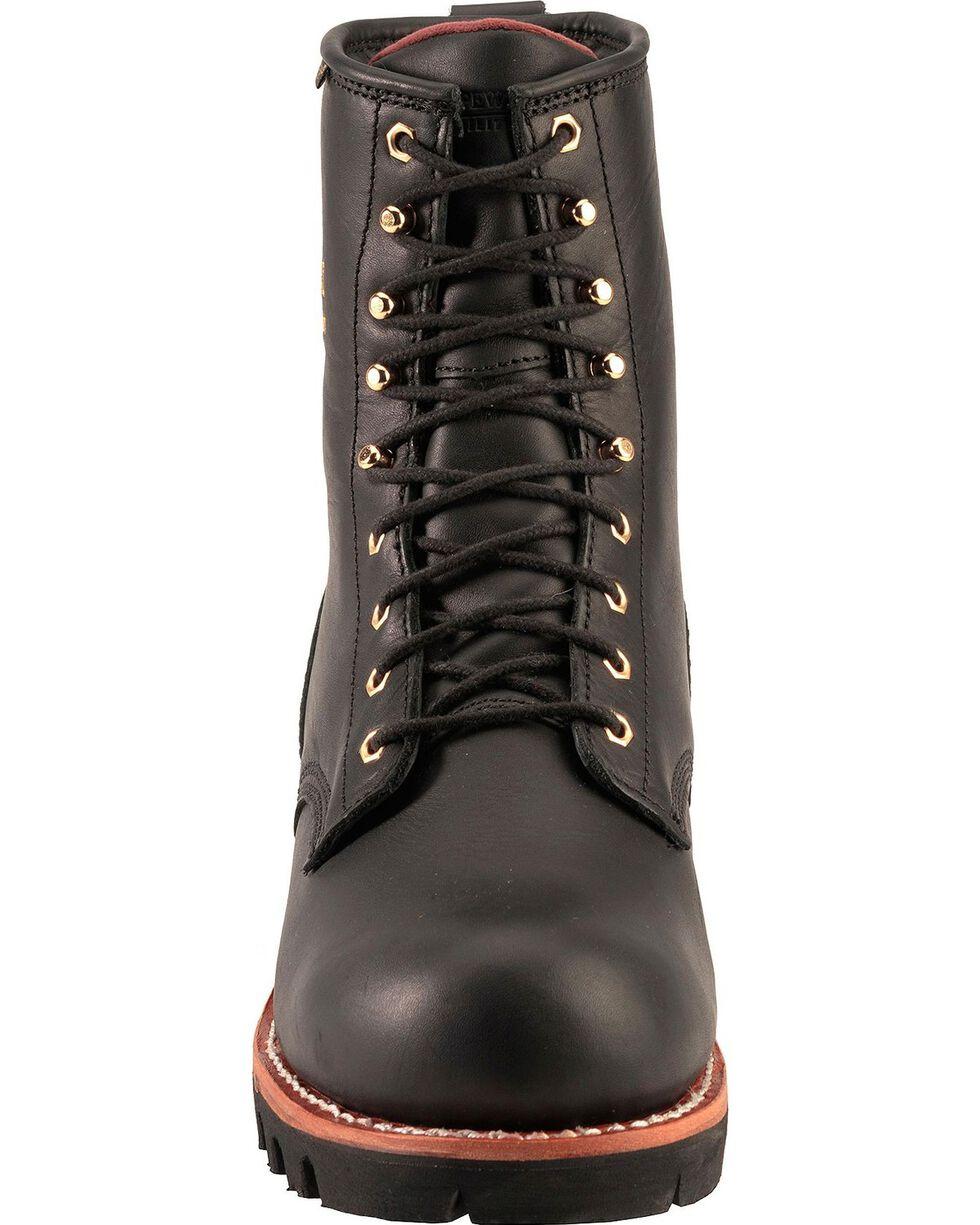 "Chippewa Men's 8"" Waterproof Logger Work boots, Black, hi-res"