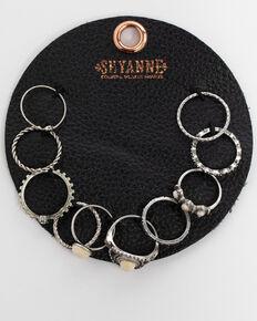 Shyanne Women's Bone 10 Pack Ring Patch Set, Ivory, hi-res