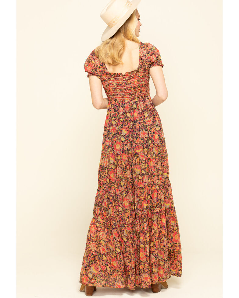 Free People Women's Getaway Maxi Dress, Black, hi-res