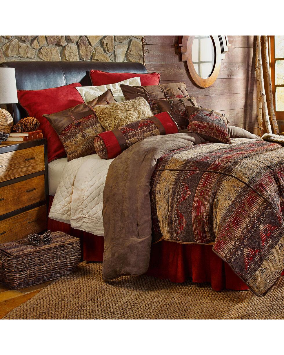 HiEnd Accents 5-Piece Twin Luxury Chenille Suede Sierra Bedding Set, Multi, hi-res