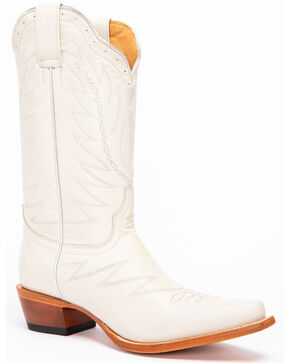 Shyanne Women's True Love Western Boots - Snip Toe, White, hi-res