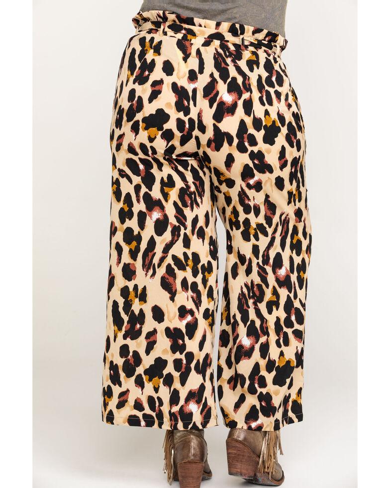 Flying Tomato Women's Leopard Pants - Plus, Leopard, hi-res