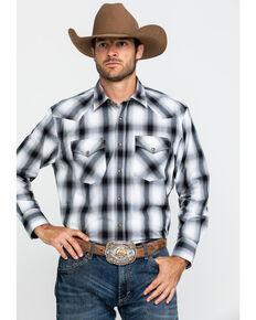 Pendleton Men's White Frontier Large Plaid Long Sleeve Western Shirt , White, hi-res
