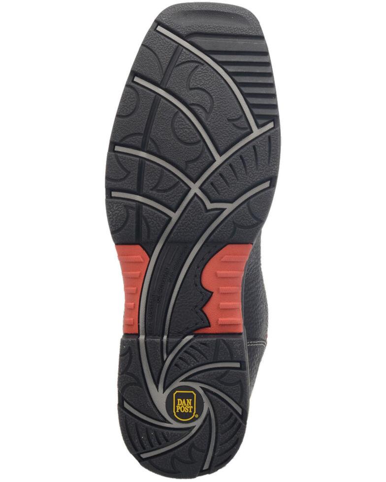 Dan Post Men's Storm Surge Waterproof Western Work Boots - Composite Toe , Red, hi-res