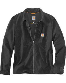 Carhartt Men's Full Swing Briscoe Work Jacket - Big & Tall, Black, hi-res