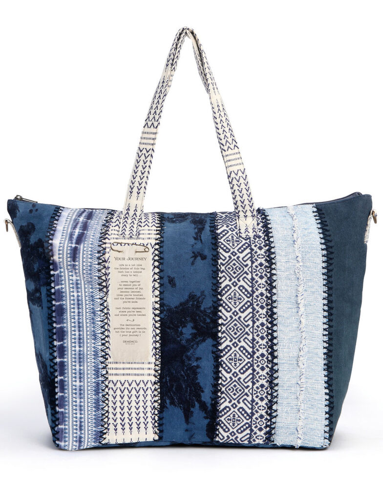 Demdaco Women's Journey Indigo Weekender Bag, Indigo, hi-res
