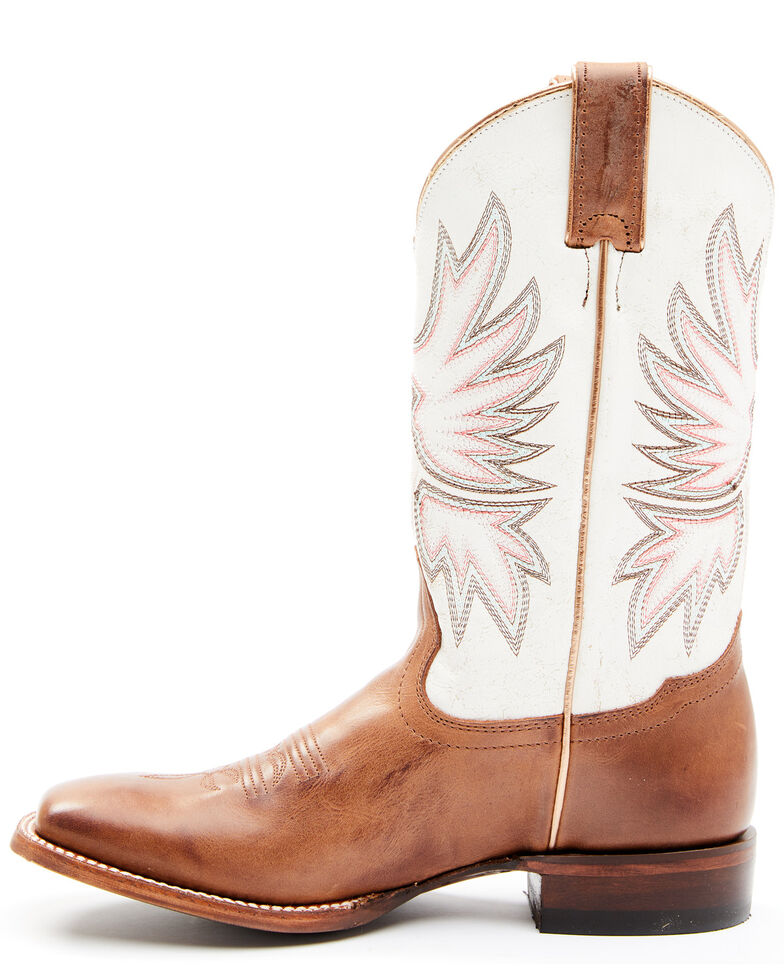 Shyanne Women's Cady Western Boots - Square Toe, Brown, hi-res