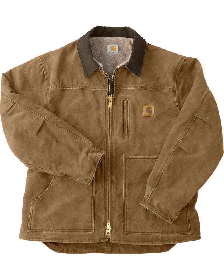 Carhartt Sandstone Ridge Work Coat, Brown, hi-res