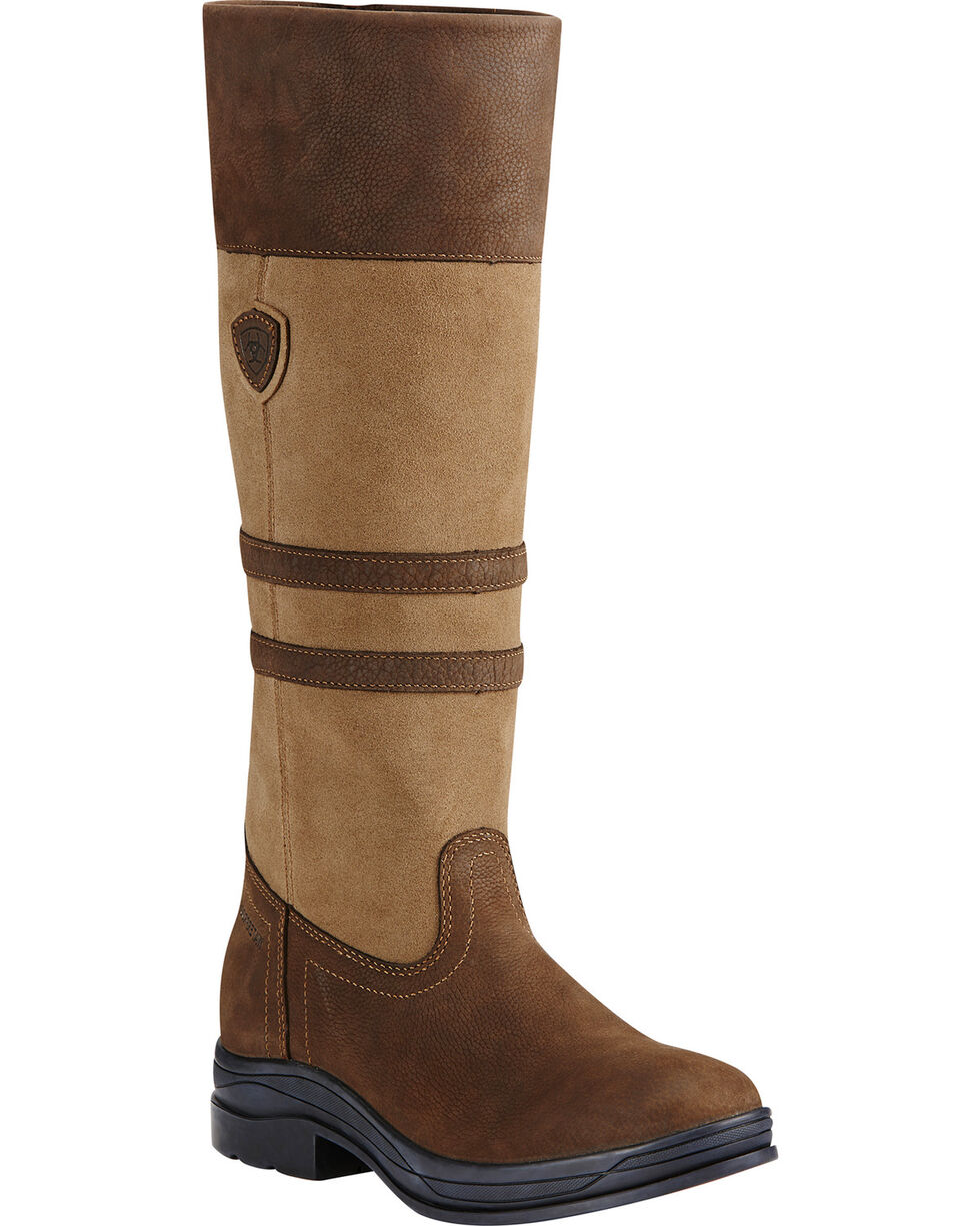Ariat Women's Ambleside H2O English Boots, Tan, hi-res