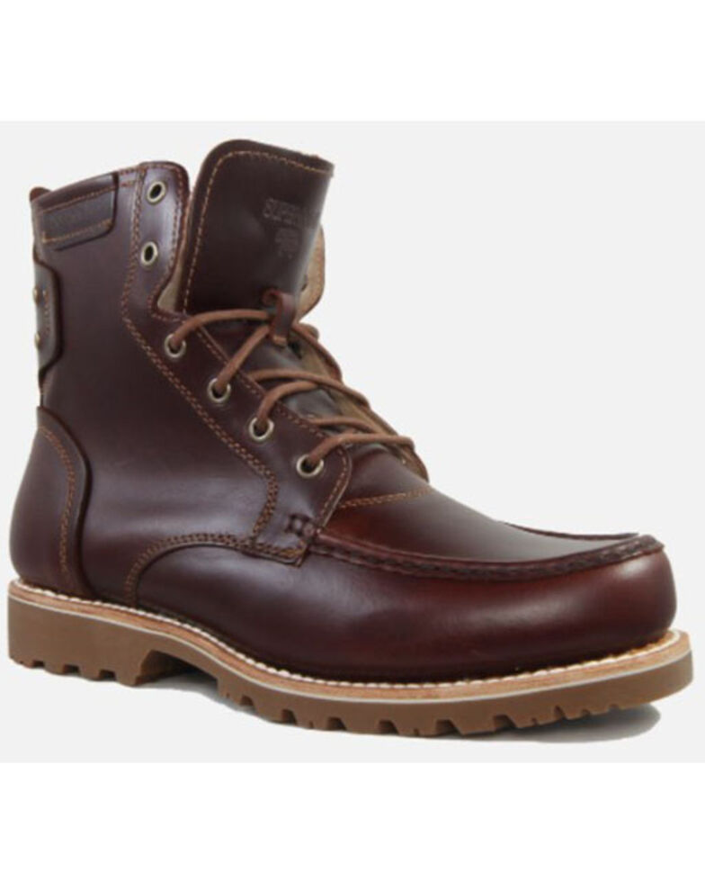 Superlamb Men's Ibex Lacer Work Boots - Composite Toe, Black Cherry, hi-res