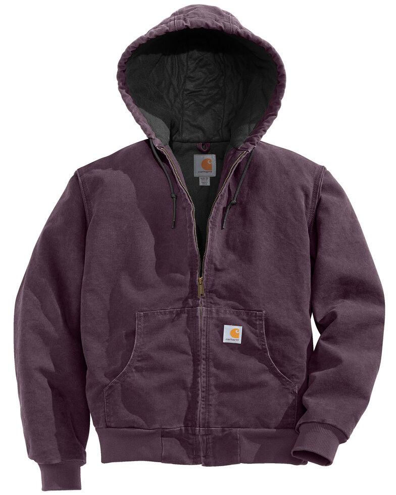 Carhartt Women's Sandstone Active Jacket, Plum, hi-res