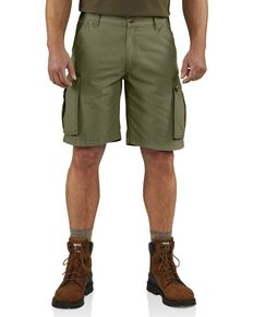 Carhartt Men's Rugged Cargo Shorts, Army, hi-res