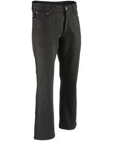 """Milwaukee Leather Men's Black 32"""" Aramid Infused 5 Pocket Loose Fit Jeans - XBig, Black, hi-res"""